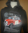 BMC MINI COOPER S #37 RALLY HOODIE S-2XL BRAND NEW DESIGN