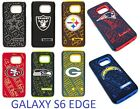 for Samsung Galaxy S6 EDGE NFL FOOTBALL TEAM DUAL LAYER HYBRID PROTECTIVE CASE $10.95 USD on eBay