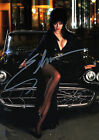 ELVIRA (MISTRESS OF THE DARK) 01 SIGNED PHOTO PRINT 01