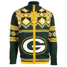 NFL Football Team Split Logo Warm Winter Ugly Sweater Jacket - Pick Your Team!