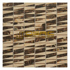 """Marble Mosaic Tile Bamboo Collection MM3104, 12""""X12"""""""