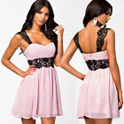Sexy New Womens Summer LACE dress Evening Cocktail Party Short Mini Dresses XS~L