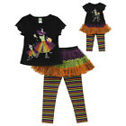 "Dollie & Me 6 7 8  and 18"" doll matching set fit american girl  witch Halloween"
