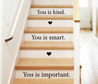 You Is Kind Heart Wall Sticker Home Quotes Inspirational Love MS207VC