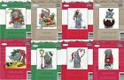 DMC Tatty Teddy CHOICE of 8 CHRISTMAS Design Mini Cross Stitch KIT Me to You NEW