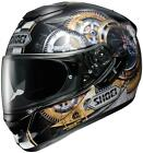 Shoei GT Air Cog Black Gold TC-9 Full Face Motorcycle Riding Helmet