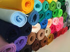 Super Soft Polyester Felt Fabric (approx 21cm x 24cm) Choose from 51 colours