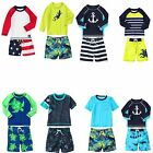 Gymboree 2015 Toddler Boy Swim Shop Sets Rash Guard Trunks 12 18 24 2T 3T 4T NWT
