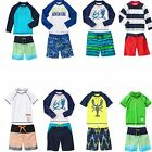 Gymboree Boy Swim Shop Sets Rash Guard & Swim Trunks 4 5 6 7 10 NWT