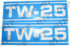 41819 Ford New Holland Decal Ford TW25 Q Cab Blue & White x 2 - PACK OF 1