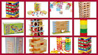 TOWER games kids toys stack wobbling tower blocks balancing wall number NEW