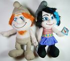 "New Set of 2 The Smurfs Hackus & Vexy 14"" Plush Dolls Figure Smurf"
