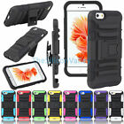 For iPhone 6s/6s Plus Hard&Soft Rubber Hybrid Armor Impact Defender Case Cover