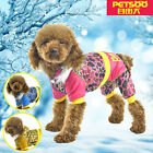 PETSOO Fashion Bronzing Speckle pattern Winter Pet Coat Clothes XS - XXL 6 size