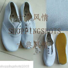 chinese canvas sailcloth sacking cloth shoes 105501 white china size 36-44