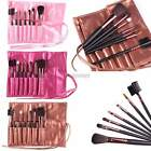 7pcs Professional Cosmetic Make Up Eyeshadow Brush Set with Leather Case ItS7