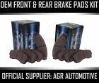 OEM SPEC FRONT AND REAR PADS FOR HONDA ACCORD 2.0 (CC7) AUTO 1993-96