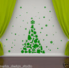 CHRISTMAS TREE WALL STICKER XMAS WINDOW STICKER / XMAS WINDOW DECORATION  S71