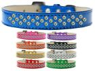 Sprinkles Ice Cream Dog Collar Clear Crystals