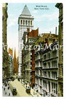 Wall Street 2 - CANVAS OR PRINT WALL ART