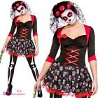 Day Of the Dead Darling Adult Halloween Fancy Dress Costume Skeleton Mexican