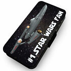 #1 Star Wars Fan Inspired Printed Faux Leather Flip Phone Cover Case