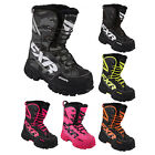 2017 FXR Mens & Womens X-Cross Snowmobile Winter Boots Rated -40 Size 4-13