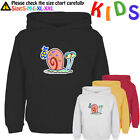 Disney SpongeBob's Pet Snail Gary Pattern Kids Gift Boy Girl Sweatshirt Hoodie