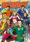 Official The Big Bang Theory Super Heroes  Maxi Poster 91.5 x 61cm Bazinga Comic