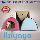 Pet Dog Cat Carrier House Bed Kennel Nest Tent Cave Collapsible Warm Cushion