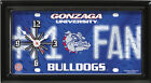 NCAA COLLEGE LICENSE PLATE CLOCK ~ MOST TEAMS AVAILABLE ~ FREE SHIPPING