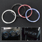 3x Air Condition AC Switch Knob Cover for Ford Escape Kuga Focus Subaru Forester