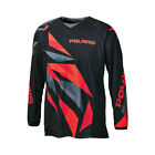 2016 OEM Polaris Youth Black & Red Fly Racing Off Road Mesh Jersey Sizes S-3X