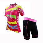 New Women Cycling Jersey Shorts Cyclebicycle Clothing Running Bike Ropa Colorful
