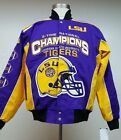 Louisiana State Tigers 3-Time Football Championship Jacket