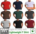 PRO CLUB LIGHTWEIGHT T SHIRTS PROCLUB MEN'S PLAIN SHORT SLEEVE UNDERSHIRTS S-5XL image