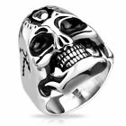 NEW MENS SIGNET RING STEEL SKULL FRANKENSTEIN SKULL 2538