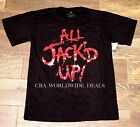 New Universal Halloween Horror Nights HHN 25 All Jack'd Up 2015 T-Shirt L- 3XL
