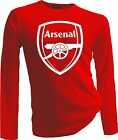 Arsenal FC Football Soccer T Shirt EPL Gunners Screen Printed Handmade RED