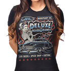 Steady Clothing Women's Drags & Dames T-Shirt Rockabilly Pin Up Retro Kustom