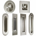 Probrico Stainless Steel Flush Pulls Recessed For Sliding Round In Door Handles