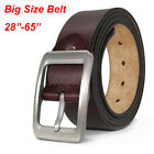 """2017 hot selling Top quality Fashion Mens Belt 100% Genuine Leather Waist 30-54"""""""