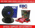 EBC FRONT GD DISCS REDSTUFF PADS 301mm FOR CHEVROLET ASTRO 2.5 2WD 1990-95