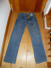 F F  REGULAR CLASSIC FIT JEANS 30  LONG WASHED BLUE WITH STRETCH BNWT