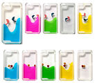 Fish Dolphin Liquid Moving Floating Case Cover iPhone 4 5 5c 6 Samsung S4 S5 S6