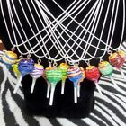 SUPER CUTE KITSCH KAWAII MINI CHUPA CHUPS CHUP CANDY LOLLIPOP NECKLACE