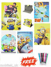 """Despicble Me Universal Leather Stand Case Cover 7"""" Inch Tab Android Tablet New!"""