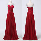 Long Wedding Formal Evening Party Ball Gown Bridesmaid Prom Dresses PLUS SIZE