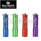 Olight i3E EOS Philips Led 90LM Mini Keyring Flashlight aaa Battery Multi Color