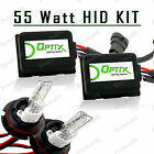 55W HID Head Light Hi Lo Xenon Lights Slim Kit Plug N Play Bulb Size - 9004 HB1